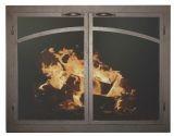 """FP Arch Panels GL Door w/Gate Mesh, 2.5"""" Frame In BG - 39"""" x 32"""""""