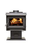 Ashley Hearth AW1120E-P Pedestal Wood Stove - 1200 Sq. Ft.
