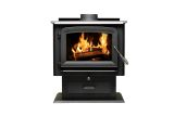 Ashley Hearth AW2520E-P Pedestal Wood Stove - 2500 Sq. Ft.