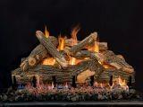 "36"" Arizona See-Thru Weathered Oak 9 Piece Logs - LOGS ONLY"