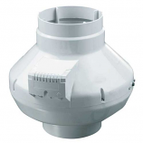 """AXP In-Line 5"""" Pre-Wired Duct Fan w/120V Power Cord - 235 cfm"""