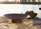 """Asia 48"""" Electronic Fire Pit with Stainless Steel Burner - NG"""