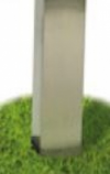 Stainless Steel Post Extension for SS48G In-Ground Post - 22 inch