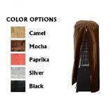 Waterproof Heavy Duty Glass Tube Tabletop Heater Cover - Camel