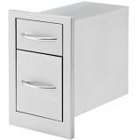 Cal Flame 2 Deep Storage Drawers