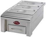 12-Inch Food Warmer By Cal Flame Bbq