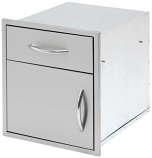 "Cal Flame 18"" Door and Drawer Combo"