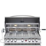 Cal Flame BBQ18875CP Built-In Convection 5 Burner Gas BBQ Grill - LP