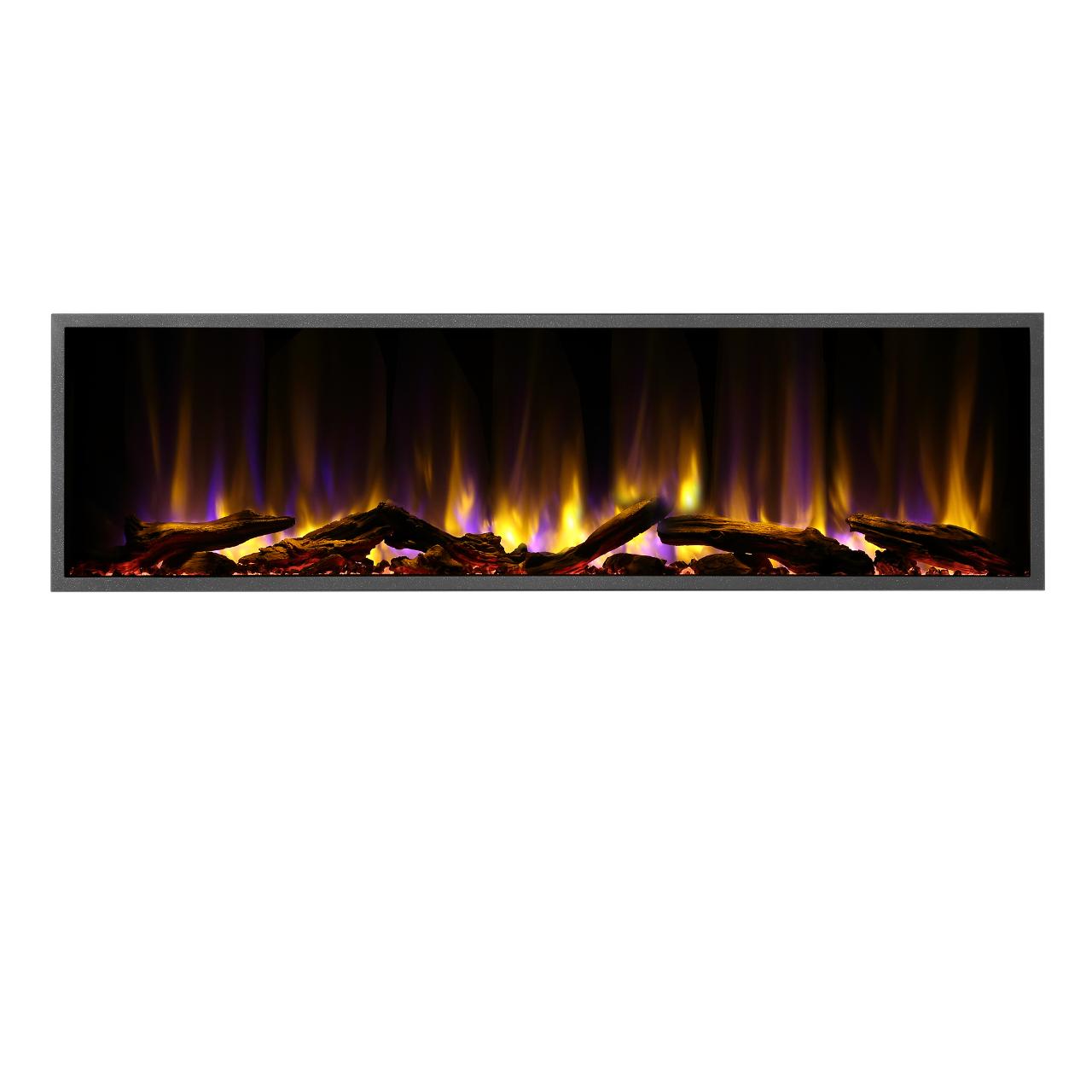 "Dynasty Harmony BEF Series 57"" Linear Electric Fireplace"