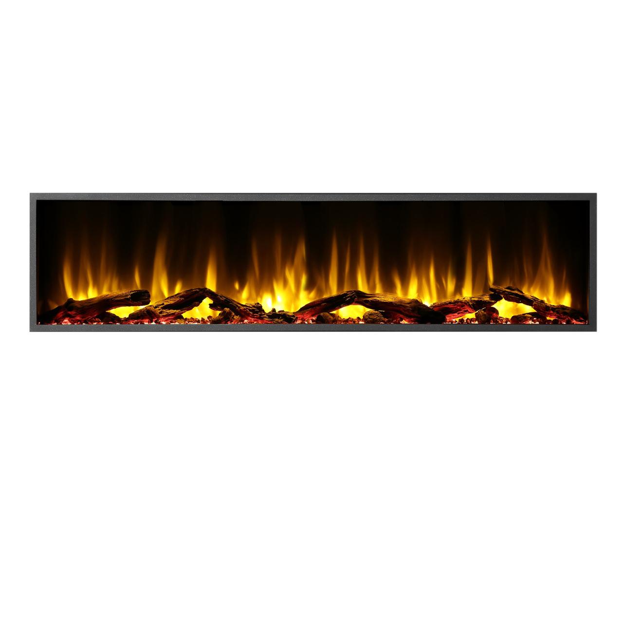 "Dynasty Harmony BEF Series 64"" Linear Electric Fireplace"