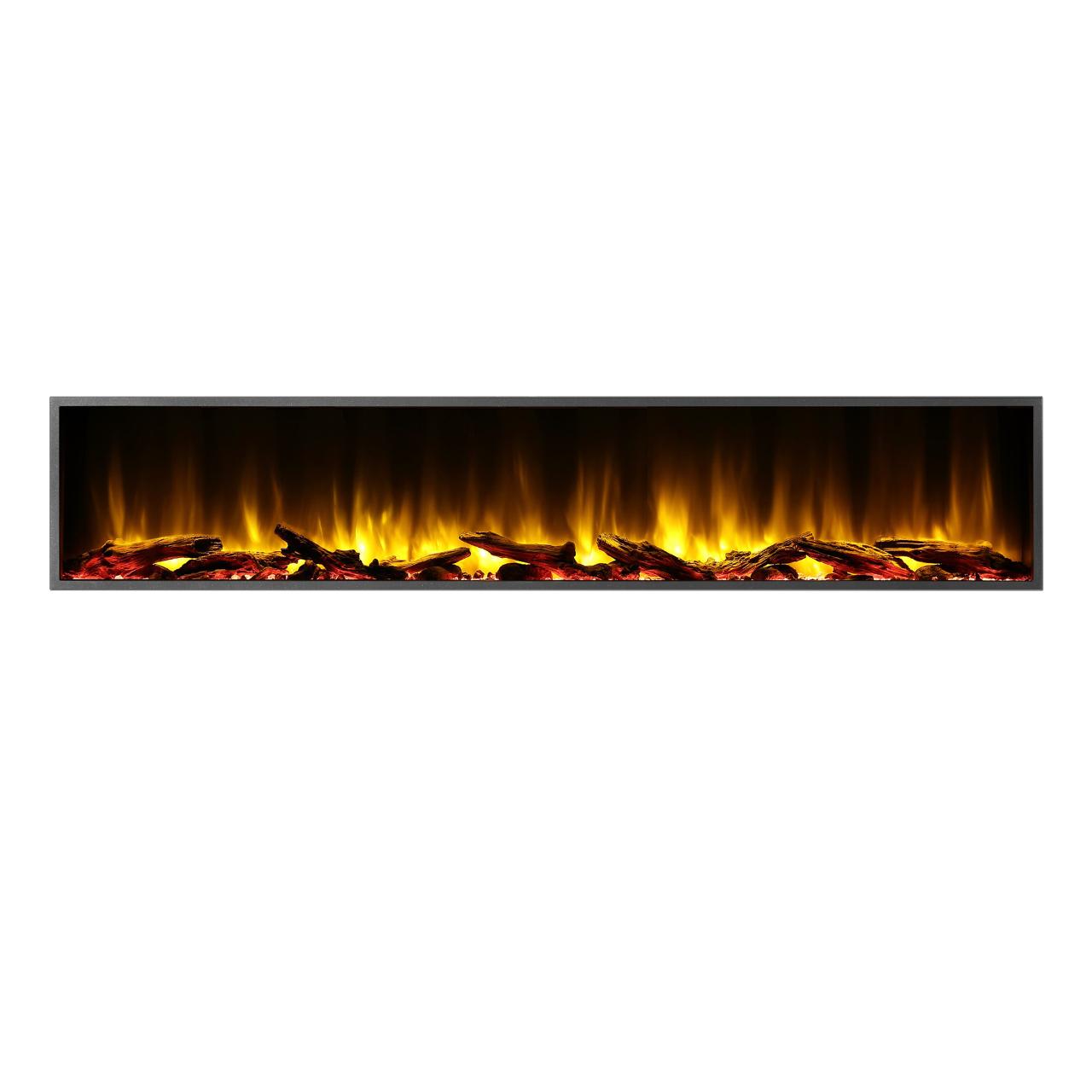 "Dynasty Harmony BEF Series 80"" Linear Electric Fireplace"