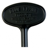 "8"" Universal Key Flat Black By Blue Flame"