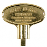 "3"" Universal Key Polish Brass By Blue Flame"