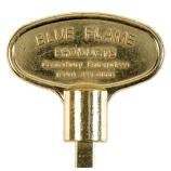 "Universal 18"" Polish Brass Key"