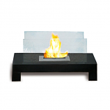 Anywhere Fireplace 90296 Gramercy Indoor/Outdoor Fireplace - Black