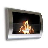 Anywhere Fireplace 90298 Chelsea Indoor Wall Mount Fireplace - SS