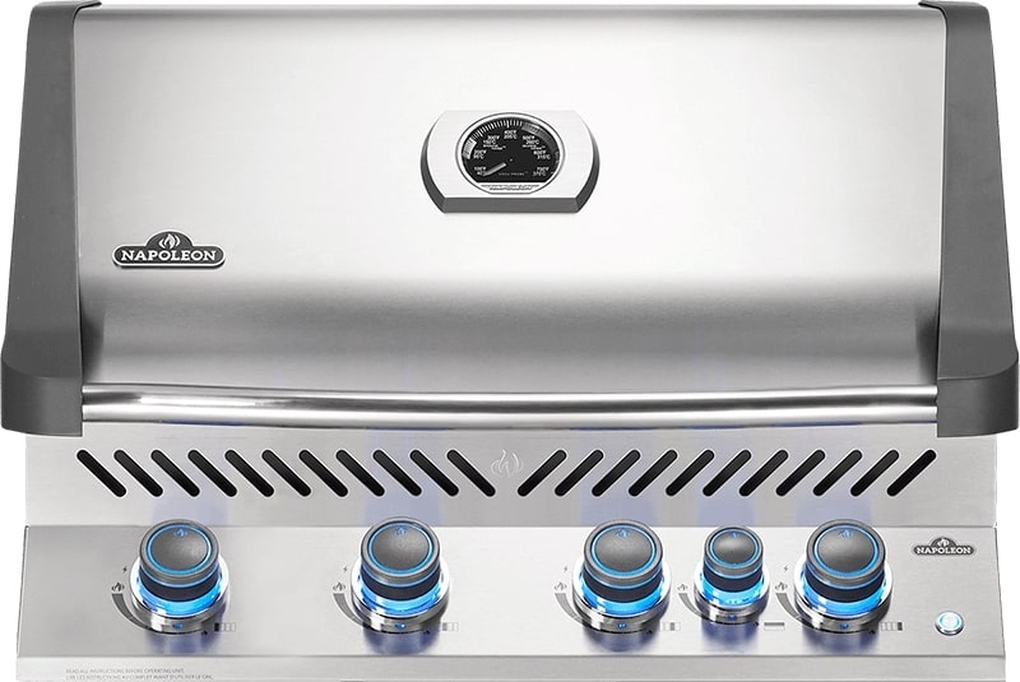 Napoleon Built-In Prestige 500 RB Stainless Steel Gas Grill - NG