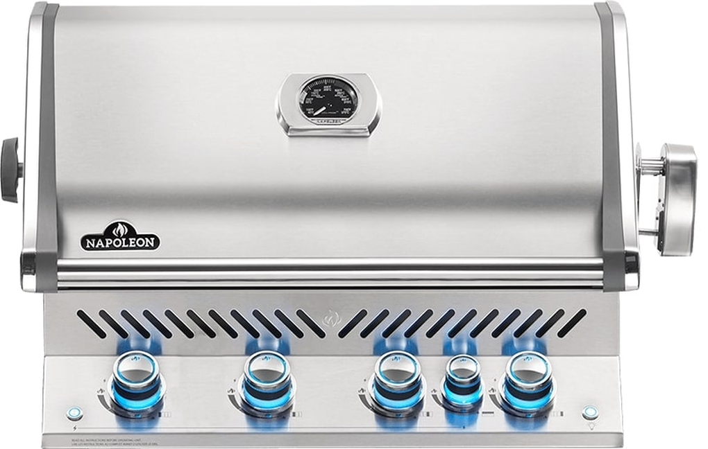 Napoleon Built-In Prestige Pro 500 RB Stainless Steel Gas Grill - LP