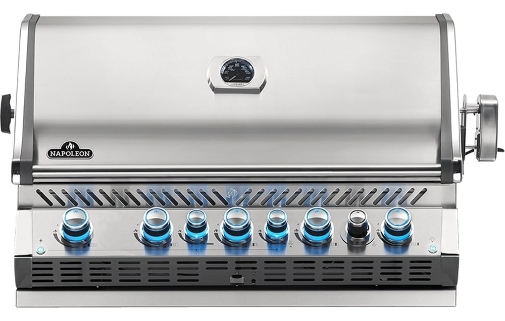 Napoleon Built-In Prestige Pro 665 RB Stainless Steel Gas Grill - LP