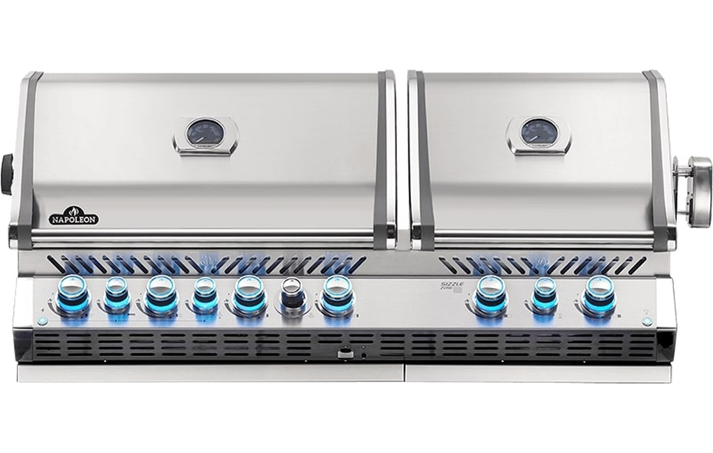Napoleon Built-In Prestige Pro 825 RBI Stainless Steel Gas Grill - LP