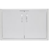 Blaze BLZ-AD40-R 40'' Double Access Door with Paper Towel Dispenser