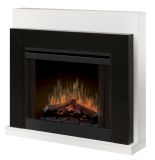 Dimplex 33'' Contemporary Convertible Mantel - Ebony