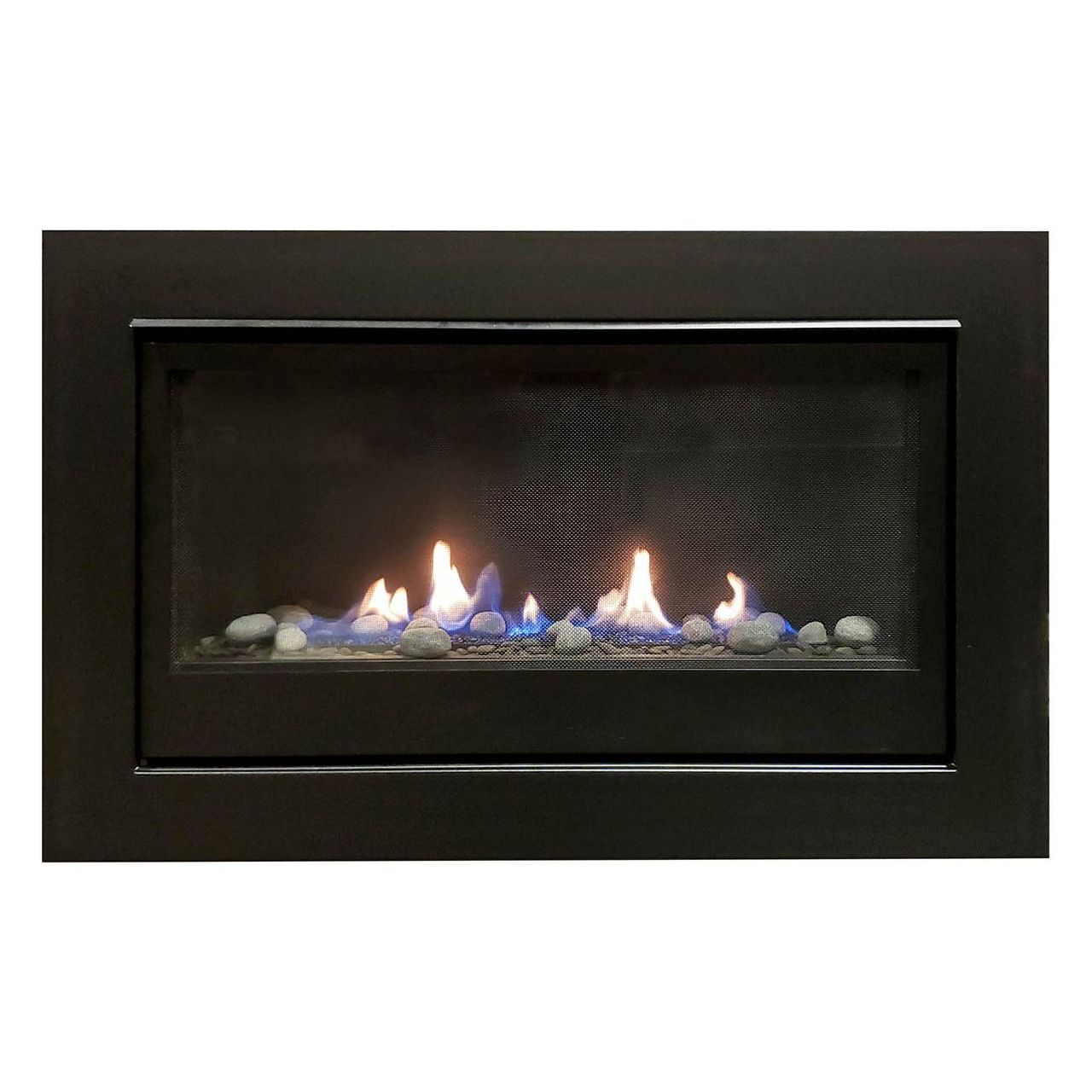 Sierra Flame Boston-36 Builders Linear Gas Fireplace - Natural Gas