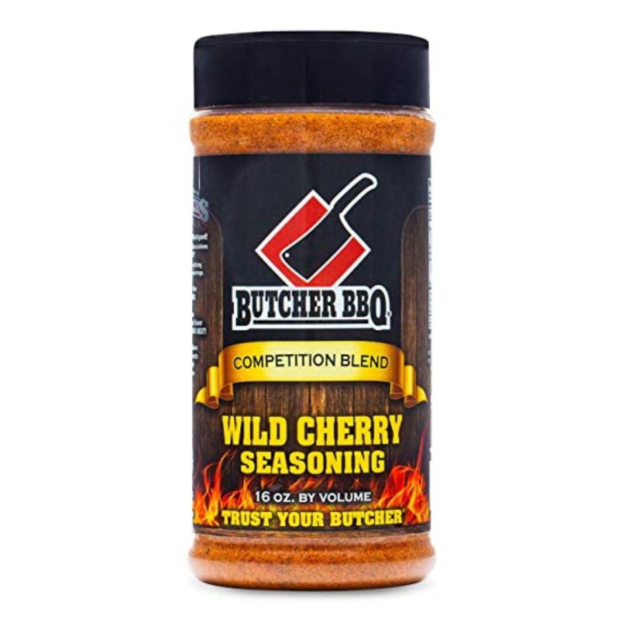 Butcher BBQ 16oz Wild Cherry Rub and Seasoning