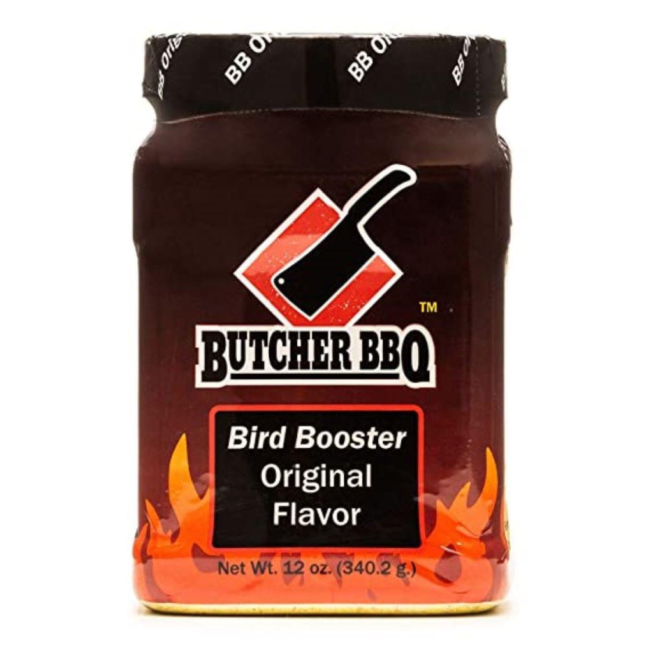 Butcher BBQ 12oz Bird Booster Original Flavor Powder Injection Marinade