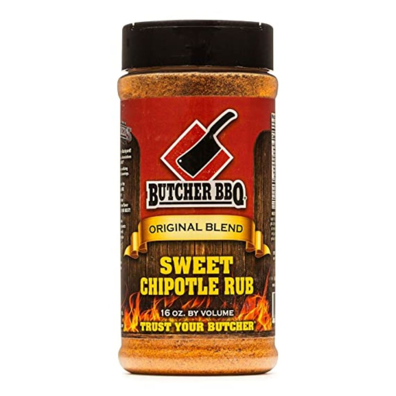 Butcher BBQ 16oz Sweet Chipotle Dry Rub Seasoning and Spices