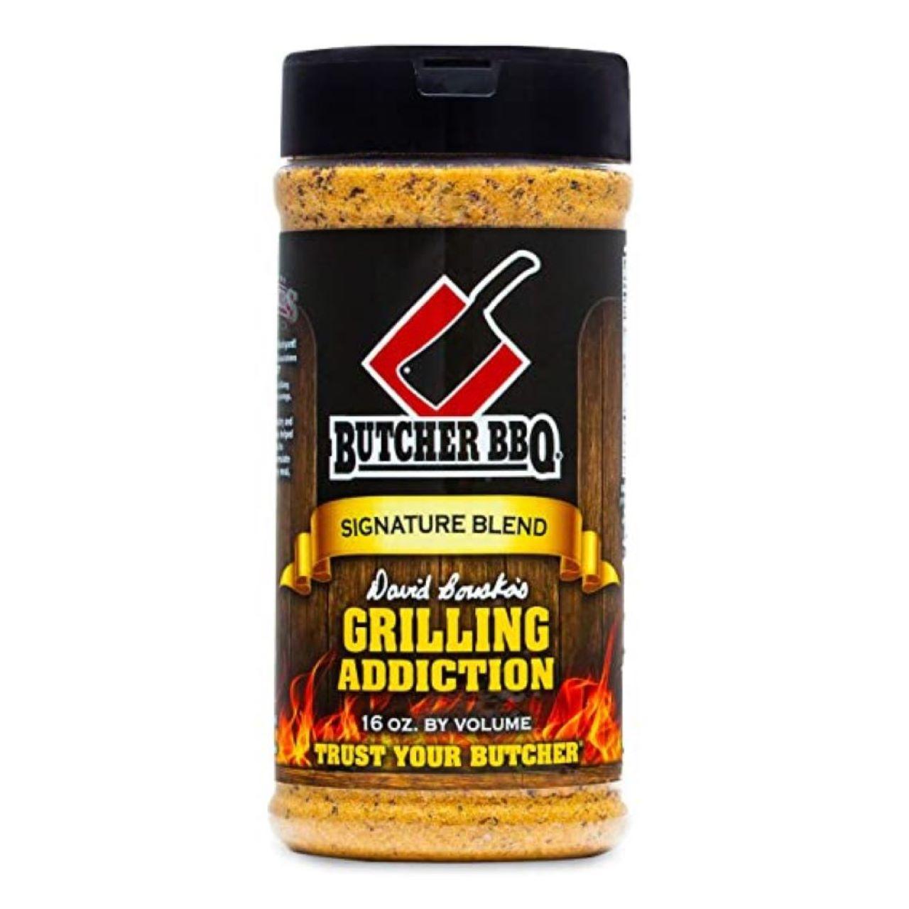 Butcher BBQ 16oz Grilling Addiction Dry Rub Seasoning