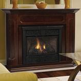 Monessen 400 Size Barrington Wood Cabinet - Dark Walnut