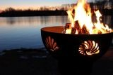 Beachcomber Match Lit Fire Pit with Stainless Steel Burner - LP