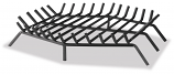 "36"" Bar Grate - Hex Shape For Outdoor Fireplaces"
