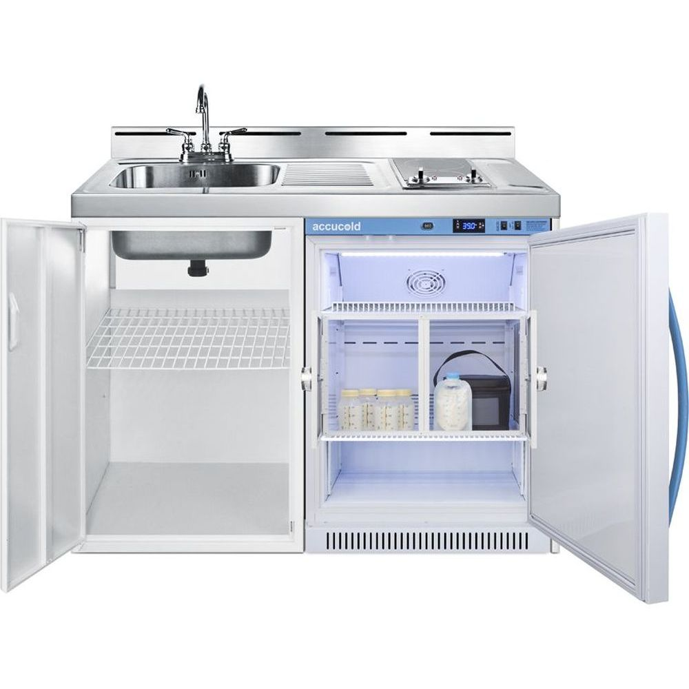 "Summit 48"" Wide All-In-One Wellness Room Kitchenette - Antimicrobial"