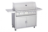 "Stainless Steel Gas Grill Cart for 38"" TRL Series Grill - Cart Only"