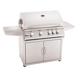 "Stainless Steel Gas Grill Cart for 32"" Sizzler Grill - Cart Only"
