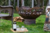 Salmon Fire Pit - Natural Gas - Electronic Ignition