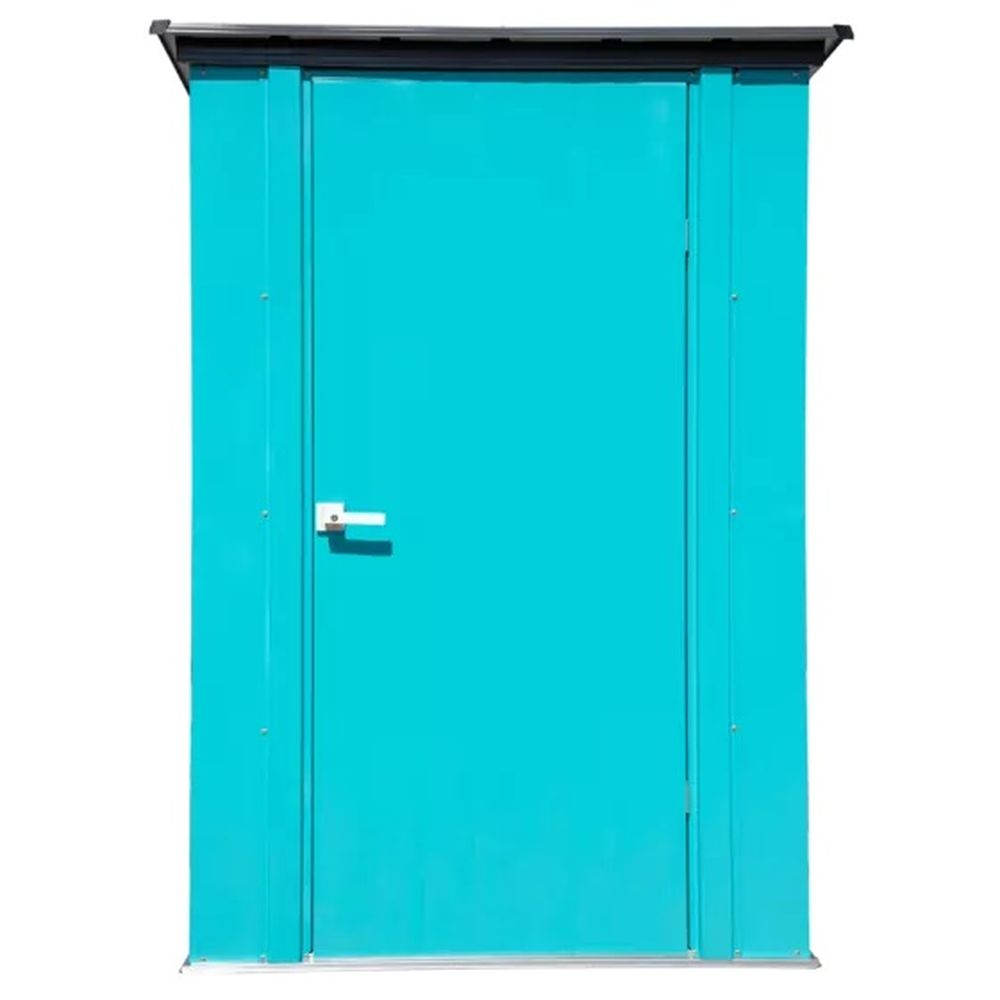 Arrow CY43T21 Spacemaker Patio Shed in Teal and Anthracite - 4' x 3'