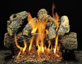 """18"""" Charred BL Jack Logs with Double Burner and Variable Flame Remote Ready LP"""