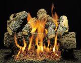 Charred Black Jack Logs With Burner