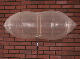 "Chimney Balloon Fireplace Damper 45""X15"" Draft Stopper Pillow Plug"