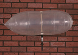 "Chimney Balloon Fireplace Damper 30""X9"" Draft Stopper Pillow Plug"
