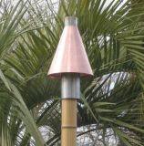 Copper Cone Series Automated Tiki Torch - LP
