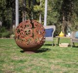 Coral Dome Fire Pit - Wood Burning
