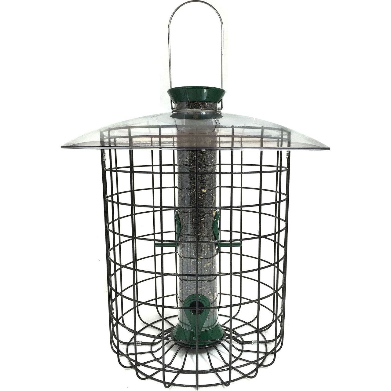 Classic 1 Lbs Sunflower Domed Cage Shelter Feeder