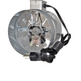 Suncourt Inductor 6'' In-Line Duct Booster Fan