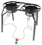 Bayou Classic Double High Pressure Propane Burner Cooker