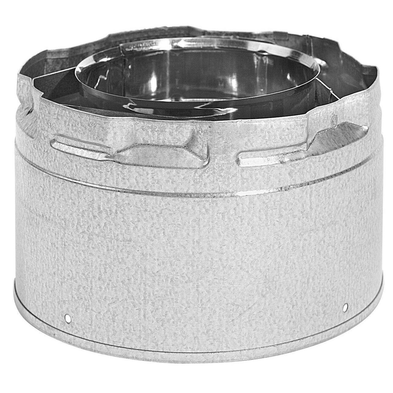 "Metal-Fab Standard Duravent Direct Vent Adapter - 4"" Dia"