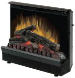 Dimplex DFI23096A 23'' Standard Electric Fireplace with Log Set
